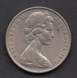 Australia 20 cents 1975, Australia si Oceania