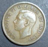 Canada 1 cent 1941, America de Nord