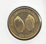 Wallis Si Futuna 100 francs 2011 UNC, Australia si Oceania
