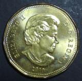 Canada 1 dollar 2010 UNC, America de Nord