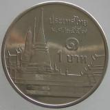 TAILANDA KM#443 - 1 Baht 2009-2013, Asia
