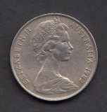 Australia 10 cents 1982, Australia si Oceania