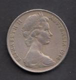 Australia 20 cents 1968, Australia si Oceania