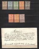 RRR     EFIGII 1903  LP 56 +56g   MNH +MH CITESTE DESCRIEREA, Nestampilat