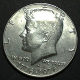 America SUA 1/4 dollar 1976 1 aUNC, America de Nord