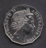 Australia 50 cent 1999 2 UNC, Australia si Oceania