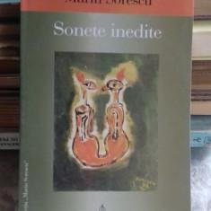 SONETE INEDITE - MARIN SORESCU