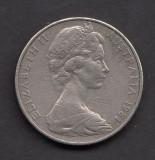 Australia 20 cents 1981, Australia si Oceania