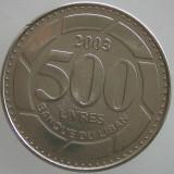 LIBAN KM#39 -500 Livres 2003, Asia