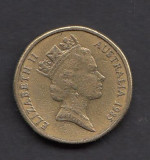 Australia 1 dollar 1985 1, Australia si Oceania