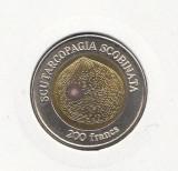 Wallis Si Futuna 200 francs 2011, Australia si Oceania