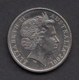 Australia 10 cents 2001, Australia si Oceania