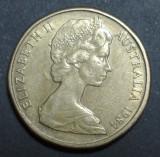 Australia 1 dollar 1984 2 aUNC, Australia si Oceania