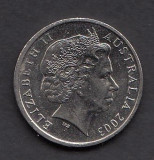 Australia 10 cents 2003, Australia si Oceania
