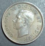 Canada 1 cent 1940, America de Nord
