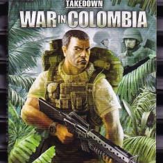 WAR IN COLOMBIA. JOC PC DE ACTIUNE. ORIGINAL, Shooting, 16+, Single player