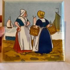 Suport lucruri fierbinti portelan sau ceramica Villeroy Boch Dresden, veche, Decorative
