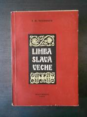 I. D. NEGRESCU - LIMBA SLAVA VECHE (1961) foto