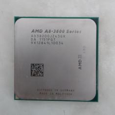 Procesor A8-3800 Series 3820 Quadcore 2.5-2.8Ghz Socket Fm1, AMD A8