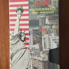 CASETA VIDEO LEVIS E-180 VHS - NOUA - IN FOLIA ORIGINALA!