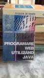 PROGRAMARE WEB UTILIZAND JAVA - ANDREI BARANGA