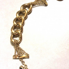 REDUCERE-Bratara dama dublu placata- placata cu AUR galben 18K