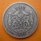 1 leu 1873 Argint 5 g 83,5% stare buna rar