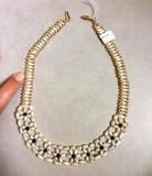 UNICAT-Colier VINTAGE OLD -elegant cu PERLE de cultura- lantisor perla