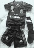 ECHIPAMENTE FOTBAL COPII REAL MADRID-SERGIO RAMOS, MODEL NOU,LIVRARE GRATUITA, XS/S, YXXL, Tricou + Pantalon