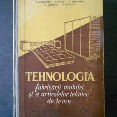 M. BALDOVIN -TEHNOLOGIA FABRICARII MOBILEI SI A ARTICOLELOR TEHNICE DE LEMN