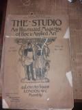 Revista  art  nouveau , originala Studio, 14 aug.1909