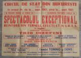 Circul de stat din Bucuresti// afis 1961