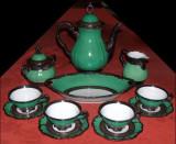 Pforzheim, serviciu ceai argintat, interbelic, Seturi