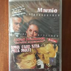 Alfred HITCHCOCK - MARNIE + OMUL CARE STIA PREA MULTE (1 DVD 2 FILME - IN TIPLA!, Romana