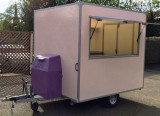 Rulotă comercială cu Mașină automată (nouă !) Gogoși, Mixer profesional - aluat