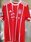 Tricou Bayern Munchen 2018 : XS, S,M,L,XL,XXL, Din imagine, Rosu, De club