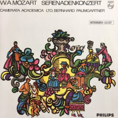 MOZART : Serenadenkonzert     ( vinil )