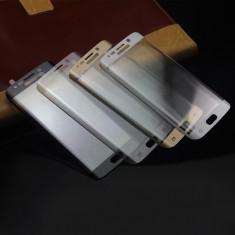 Folie sticla Samsung Galaxy S6 Edge curbata colorata tempered glass