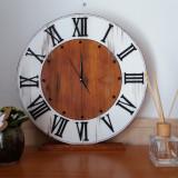 Ceas lemn handmade