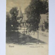 Carte postala Baile Valcele/Elopatakfurdo,circulata 1902