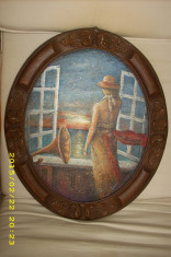 pictura veche impresionista foto