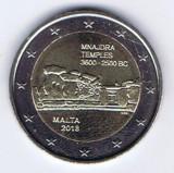 Moneda 2 euro comemorativa MALTA 2018, UNC, Europa, Cupru-Nichel