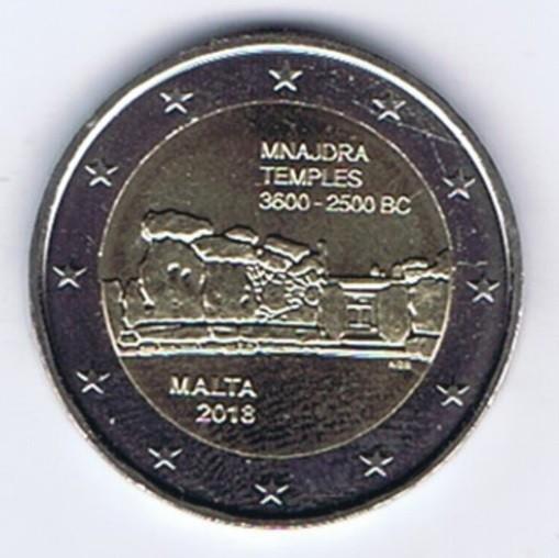 moneda 2 euro comemorativa MALTA 2018, UNC
