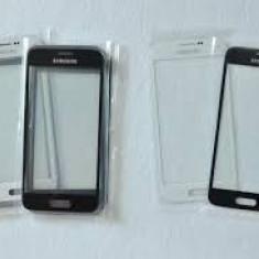 Geam Samsung Galaxy s4 i9505 alb negru + folie sticla