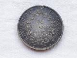 MONEDA argint 10 FRANCI 1967 FRANTA patina minunata de COLECTIE, Europa