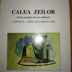 Romulus Vulcanescu - Calea Zeilor. Poem metafizic in zece tablouri (teatru)