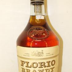Z 18 -FLORIO BRANDY EXTRASEC, DISTILLATO DI VINO, CL. 70 GL. 40 ani 80