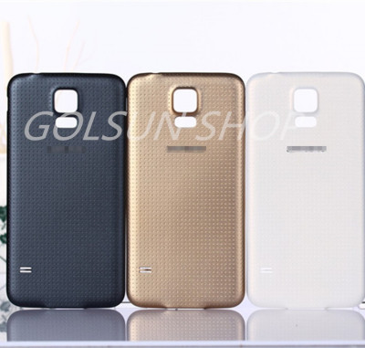 Capac Samsung Galaxy S5 mini alb negru auriu foto