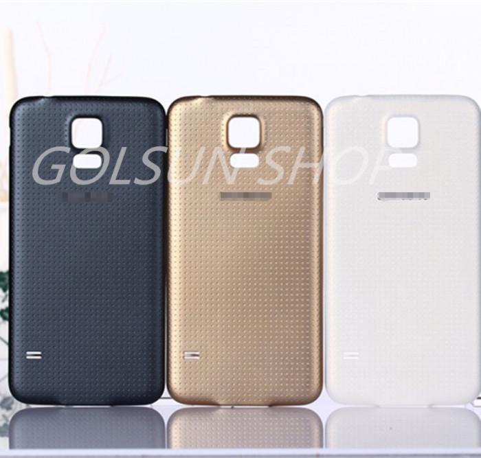 Capac Samsung Galaxy S5 mini alb negru auriu