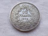 MONEDA argint 10 FRANCI 1970 FRANTA de colectie, Europa